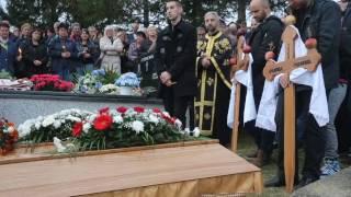 Sahrana porodice Golemović (Dragočaj), govor Božidarovog školskog druga, Video: Siniša Pašalić