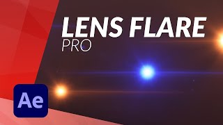 EPIC LENS FLARE for AFTER EFFECTS NO PLUG IN
