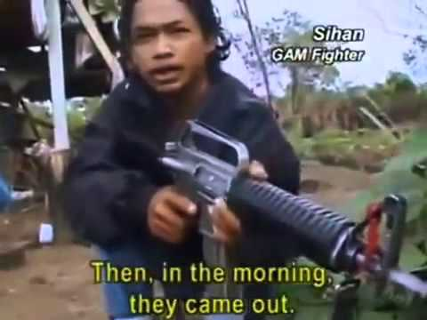 Konflik di Aceh GAM VS TNI Rekaman Bule
