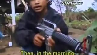 Konflik di Aceh GAM VS TNI (Rekaman Bule)