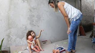 Menina Abandonada e a irmã malvada 01