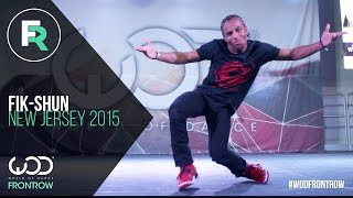 Fik-Shun | FRONTROW | World of Dance New Jersey 2015 #WODNJ2015