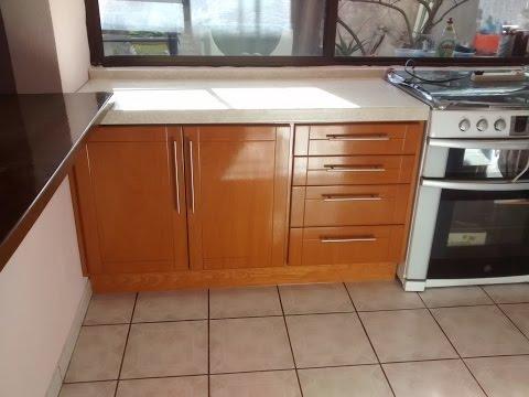 Mueble cocina isla