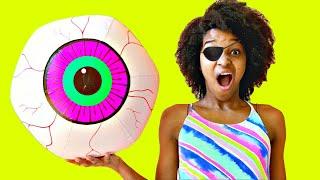 Eyeball POPS OUT AGAIN!  - Onyx Kids