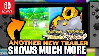 New Trailer More Gameplay for Pokemon Let