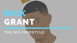 Nick Grant Spits a Freestyle on THE MIX (Emory Radio)