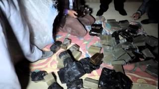 حملة قسم ثان العامرية و ضبط حشيش اثناء التفتيش
