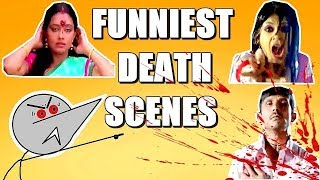 Indian Movie Funniest Death Scenes !