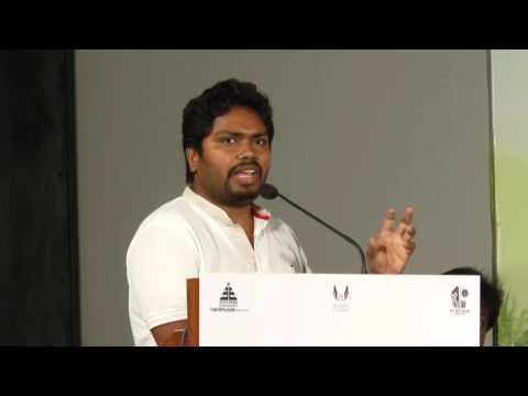 Kabali Director (Beemji ) Pa. Ranjith at Rajamanthiri Press Meet