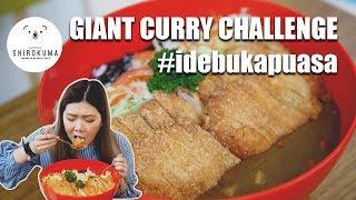 PORSI 10 ORANG? Giant Curry Challenge 3.5 kg ft. Shirokuma