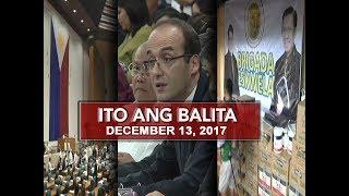 UNTV: Ito Ang Balita (December 13, 2017)