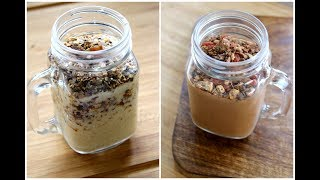 2 Easy & Healthy Oats Recipe For Working People/Students - Breakfast/Lunch Ideas For Weight Loss