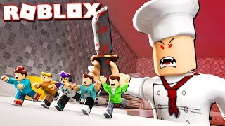 Roblox Adventures - SURVIVE THE EVIL CHEF
