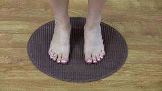 Foot Reflexology at Home in 2 Minutes a Day - Reflexology Exercise Mat: CIRCULATOR Foot Massage Mat