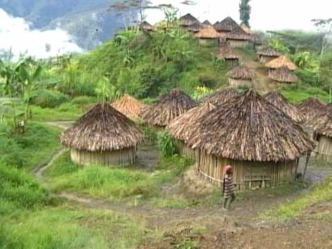 YALI PEOPLE IRIAN JAYA INDONESIA Part 2