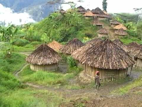 YALI PEOPLE IRIAN JAYA INDONESIA Part 2