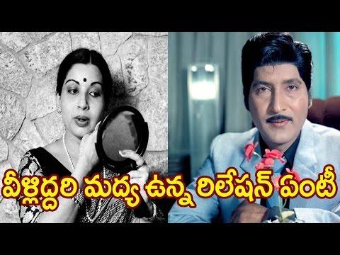 Focus on Shoban Babu and Jayalalitha love Affair