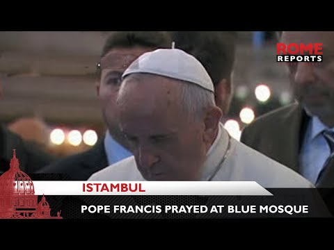 Xxx Mp4 Pope Francis Prays At The Blue Mosque In Istanbul 3gp Sex