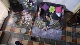 Daniella Wang (Li Dan Wang) Dress Dream Sequence