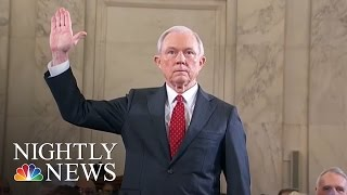 A.G. Jeff Sessions Recuses Self From Donald Trump Campaign-Related Investigations | NBC Nightly News