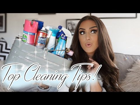 MY TOP CLEANING TIPS!!!!! Mrs Hinch inspired!