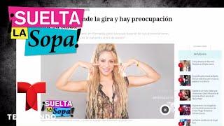 Shakira tendrá que aprender a cantar de nuevo | Suelta La Sopa | Entretenimiento