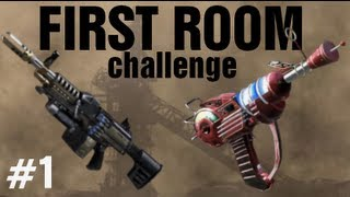 First Room Challenge w/ Ray Gun & LSAT !! Buried Black Ops 2 Zombies #1