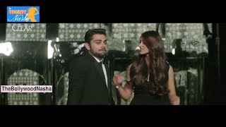 Virat Kholi And Ileana Romance Behind The Scenes || All Clear Ad Making