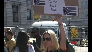 Protest Outside Of The South African Embassy,London.