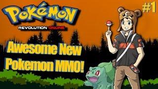 Pokemon Revolution Online Best New Pokemon MMO! Episode 1