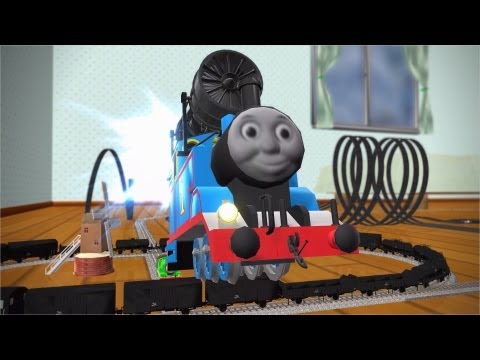 MMD Cup finals 9th Nice Train. THOMAS AND FRIENDS Never Never Never Give Up