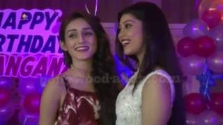 VEERA Fame Dingangna Grand 19th Birthday Celebration With TV Serial Celebs