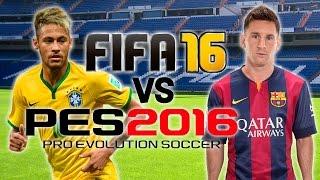 FIFA 16 vs PES 2016 | E3 Trailer Gameplay