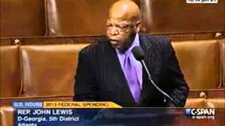 Rep. John Lewis Speaks Out Against GOP Voter Suppression Efforts