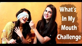 What's In My Mouth Challenge - Navneet & Shashi