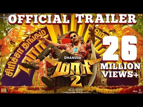 Xxx Mp4 Maari 2 Official Trailer Tamil Dhanush Balaji Mohan Yuvan Shankar Raja 3gp Sex