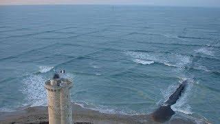 إذا رأيت أمواج مربعة في البحر... أخرج بسرعة من الماء وانج بحياتك !!