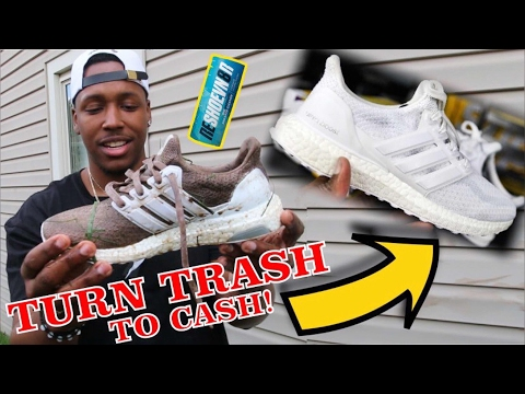 HOW TO TURN TRASH SNEAKERS TO CASH USING RESHOEVN8R! EASY WAY TO MAKE EXTRA MONEY AS A SNEAKERHEAD!