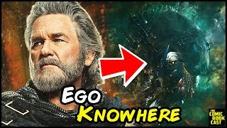 EGO's Relation to Knowhere and The Celestials in the MCU