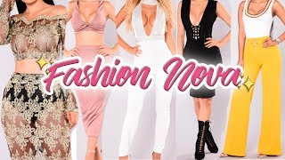 VERY SEXY FASHION NOVA HAUL YOU DON'T WANT TO MISS | FROM $24 ♡
