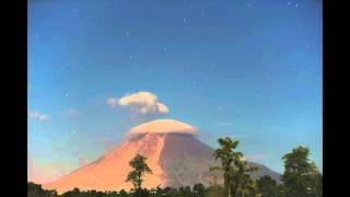 Sinabung volcano eruption on 2016-02-25. (Available in 4K)