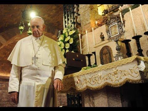 El Papa visita tumba de San Francisco de Asís - UVideos