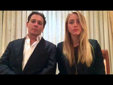 Johnny Depp and Amber Heard Australian biosecurity