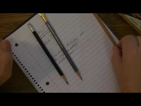 World's Best Pencil search | Mitsu-bishi 9852EW HB pencil review
