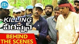 Behind The Scenes - Killing Veerappan Movie - RGV || Shivaraj Kumar || Sandeep Bharadwaj