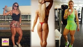 dalilakindermann - Just See This MUSCULAR Fit Girl