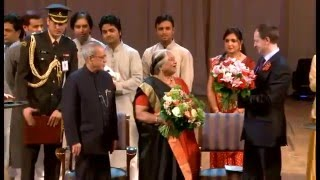 Pranab Mukherjee inaugurated Namaste Russia in Moscow on May 10, 2015