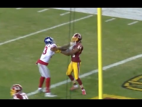 Odell Beckham Jr. Head Butted By Josh Norman Get Into FIGHT