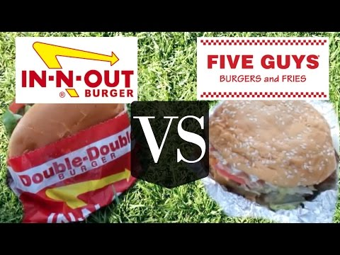 Xxx Mp4 In N Out VS Five Guys Versus BURGER Edition 3gp Sex