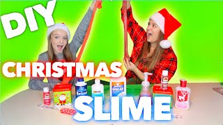 Vlogmas Day 9 DIY CHRISTMAS SLIME | Bryleigh Anne